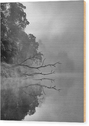 The Temptation Wood Print