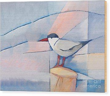 The Tern Wood Print by Lutz Baar