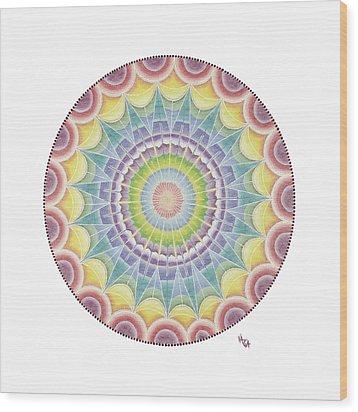 The Third Eye Wood Print by Vanda Omejc