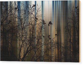 The Thorn Birds Wood Print by Marek Czaja