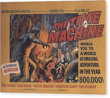The Time Machine  Wood Print by Movie Poster Prints