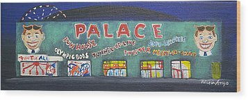 The Tiny Tiny Palace Wood Print by Patricia Arroyo