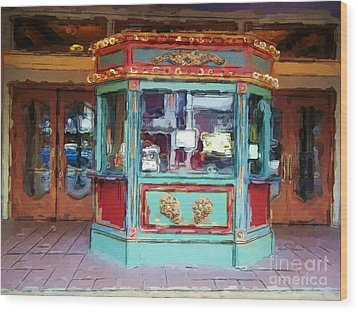 Wood Print featuring the photograph The Tivoli Theatre by Kelly Awad