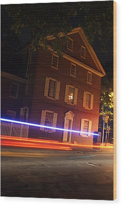 The Todd House Philadelphia Wood Print