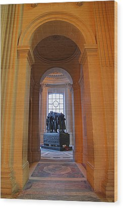 The Tombs At Les Invalides - Paris France - 011315 Wood Print by DC Photographer