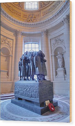 The Tombs At Les Invalides - Paris France - 011316 Wood Print by DC Photographer