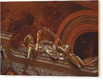 The Tombs At Les Invalides - Paris France - 011318 Wood Print by DC Photographer