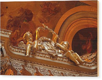 The Tombs At Les Invalides - Paris France - 011319 Wood Print by DC Photographer