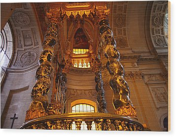 The Tombs At Les Invalides - Paris France - 011323 Wood Print by DC Photographer