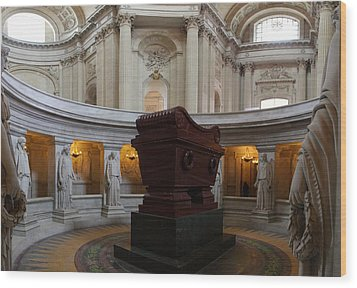 The Tombs At Les Invalides - Paris France - 011328 Wood Print by DC Photographer