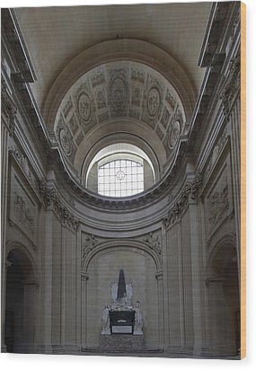 The Tombs At Les Invalides - Paris France - 01133 Wood Print by DC Photographer