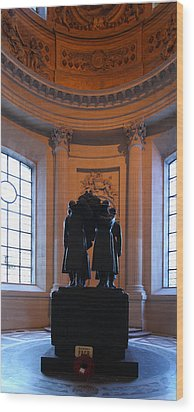 The Tombs At Les Invalides - Paris France - 01134 Wood Print by DC Photographer