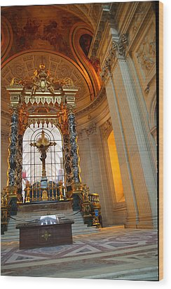 The Tombs At Les Invalides - Paris France - 01136 Wood Print by DC Photographer