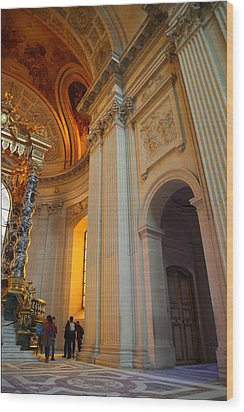 The Tombs At Les Invalides - Paris France - 01138 Wood Print by DC Photographer
