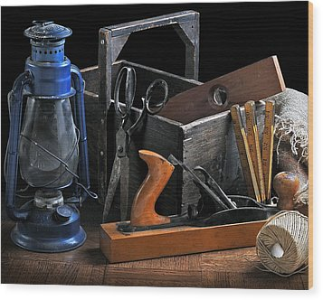 The Toolbox Wood Print by Krasimir Tolev