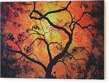 The Tree Of Life #1 Wood Print