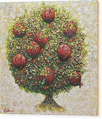 The Tree Of Love Wood Print