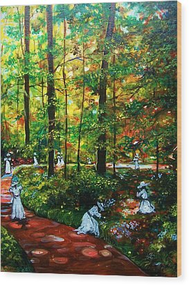 The Trials Wood Print by Emery Franklin