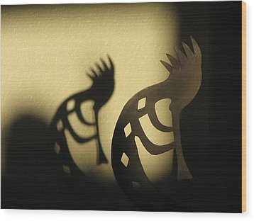 Wood Print featuring the photograph The Trickster by John Glass