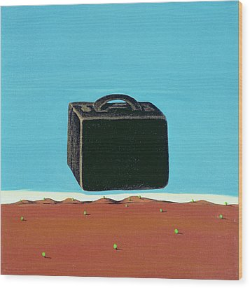 The Trip, 1999 Wood Print by Marjorie Weiss