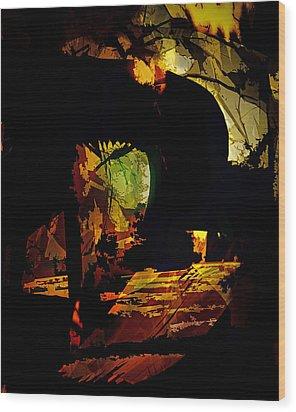 The Unknown Wood Print by Gerlinde Keating - Galleria GK Keating Associates Inc