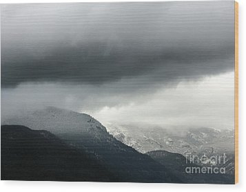 Wood Print featuring the photograph The Valley by Dana DiPasquale