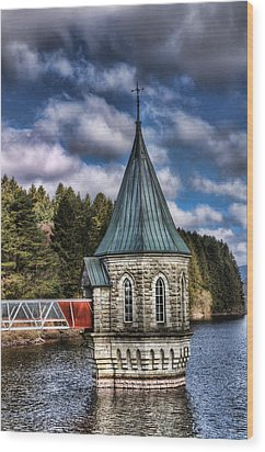 The Valve Tower Wood Print by Steve Purnell