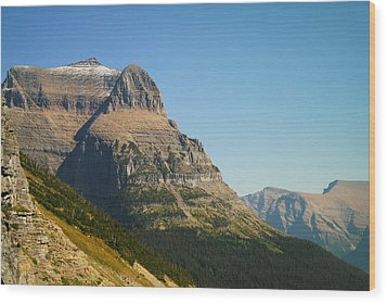 The Very First Snow In Montana In September Wood Print by Jeff Swan