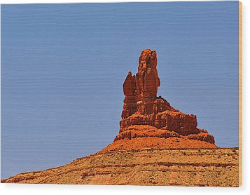The Vibe Of Valley Of The Gods Utah Wood Print by Christine Till