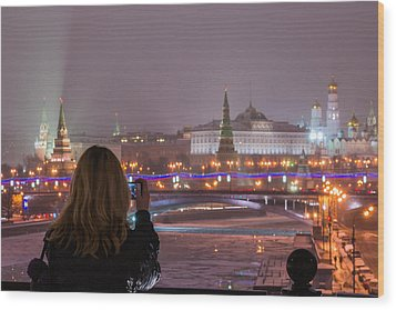The View - Featured 3 Wood Print by Alexander Senin