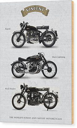 The Vincent Collection Wood Print by Mark Rogan