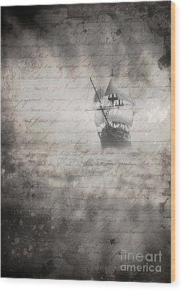 The Voyage Wood Print by Edward Fielding