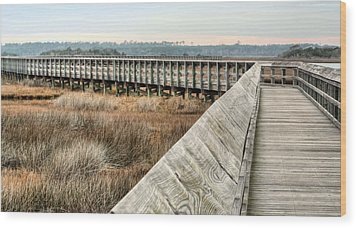 The Walkway Wood Print by JC Findley