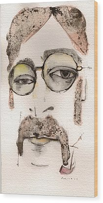 The Walrus As John Lennon Wood Print