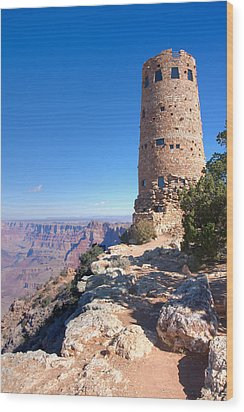 Wood Print featuring the photograph The Watchtower by John M Bailey