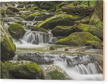 The Water Will Wood Print by Jon Glaser