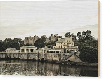 The Waterworks Wood Print by Bill Cannon