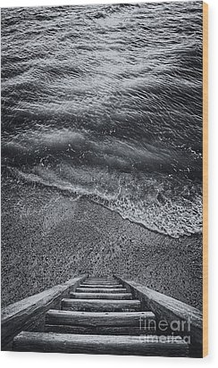 The Way To Unknown Wood Print by Svetlana Sewell