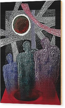 The Well Of Despair Wood Print by Hartmut Jager