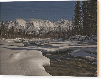 The Wheaton River Valley Lit By The Wood Print by Robert Postma