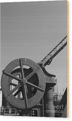 Wood Print featuring the photograph The Wheel by Maja Sokolowska