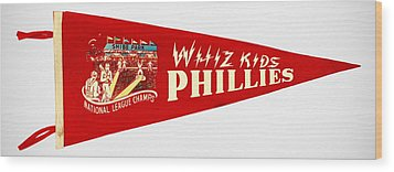 The Whiz Kids Wood Print by Bill Cannon