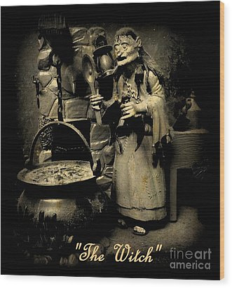 The Witch Wood Print by John Malone