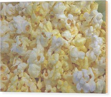 Wood Print featuring the photograph The World Of Popcorn by Hiroko Sakai