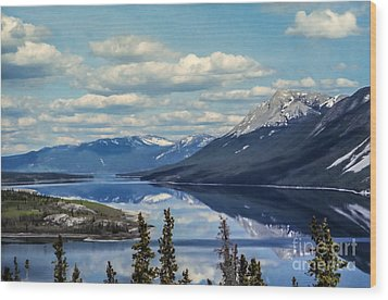 The Yukon Wood Print by Suzanne Luft