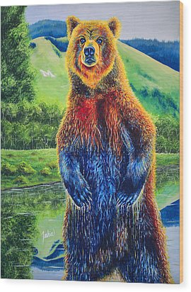 The Zookeeper - Special Missoula Montana Edition Wood Print