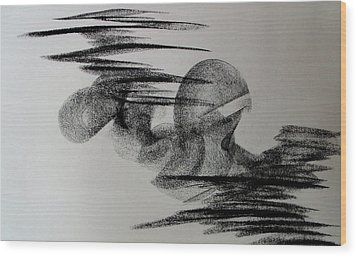 Therapy 2 Wood Print
