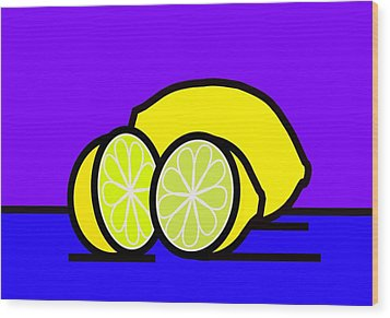 They Call Me Mellow Yellow Wood Print by Kenneth North