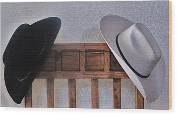 Wood Print featuring the photograph They Came Off When You Entered A Home by John Glass