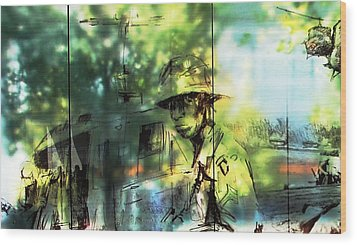 They Stand For Freedom Wood Print